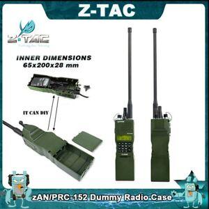 z Tactical zAN/ PRC-152 Dummy Radio Case Military Talkie Walkie Box Case Green