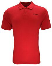 Polos de hombre en color principal rojo 100% algodón