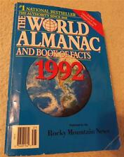 1992 World Almanac and Book of Facts National Best Seller Soviet Union Changes
