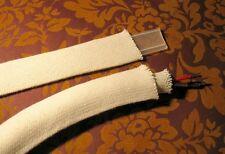 Reine Baumwolle, Geflechtschlauch, Gewebeschlauch, natur, 10-32 mm
