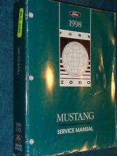 1998 FORD MUSTANG SHOP MANUAL / SHOP BOOK / ORIGINAL!!!