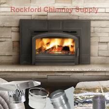 "EPA Wood Burning Insert Napoleon EPI3T + 6"" x 15' Chimney Liner + Insulation Kit"