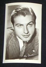 Lex Barker 1940's 1950's Actor's Penny Arcade Photo Card
