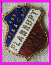 BG3630 - INSIGNE ANCIENS COMBATTANTS 1914-18 PLANRUPT (Hute-Marne)