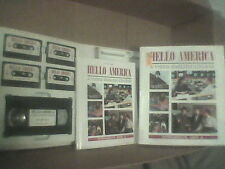 HELLO AMERICA Unit 6 - ESL Learn ENGLISH Course HELLO AMERICA #6 VHS Tapes +
