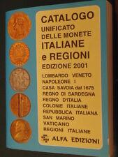 numismatica catalogo unificato delle monete italiane e regioni - edizione 2001