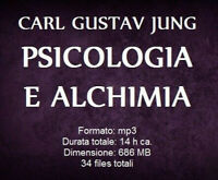 Audiolibro mp3 PSICOLOGIA E ALCHIMIA Carl Gustav Jung - audiobook file digitale