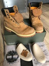Boots Homme Timberland Icon 6-inch Premium Rust nubuck 41 / 7.5 #72066 bottes