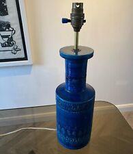 Large Aldo Londi Bitossi lamp ceramic vintage