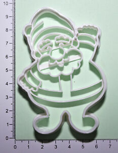 Father Christmas Cookie or fondant  Cutter 3d printed