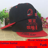 Anime Tokyo Ghoul cotton baseball cap cosplay Sun hat Hip-hop 3D Embroidery NEW