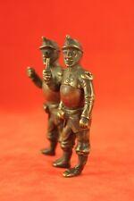 Antique French or Austrian Soldiers - Vienna Bronze - Nutmeg Body - Great Detail