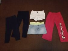 Girls pants/bottoms size 4 Lot of 5