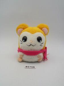 "Hamtaro B2708 Hamster Pashmina Plush 3.5"" Stuffed Toy Doll Japan"