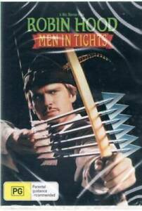 Robin Hood Men In Tights DVD New and Sealed Australia