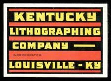 USA Poster Stamp - Kentucky Lithographing Co., Louisville - Bradbury # C3053