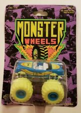 NEW 1990 ROAD CHAMPS MONSTER WHEELS FORD THUNDER BIRD 1:64  SCALE.      D30#4dr