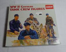 Academy- 1: 35 - 4 Figuren WW II -Panzer Crew Figuren - no. 1371  .OVP- Bausatz