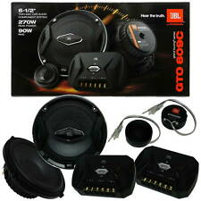 "JBL GTO609C 6.5"" CAR AUDIO 2-WAY COMPONENT SPEAKER SYSTEM GTO 609C"