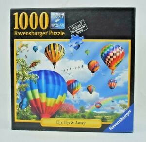 Ravensburger - Up, Up & Away No.80987 - 1000 Piece Jigsaw Puzzle - 100% Complete