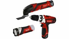 Einhell Expert 4257191 Set de herramientas Multifuncion taladro linterna LED