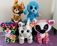 Ty Beanie Boos Lot X 5, 13cm (6'), Toy, Tags, Mandy, Kipper, LeeAnn, Dotty,  #6