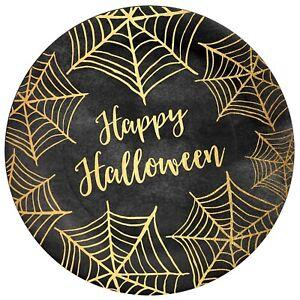 C.R. Gibson Paper Lunch/Dessert Plates, Happy Halloween, 2 Packs (TW13-21156)
