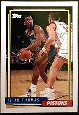 1992-93 Topps #331 Isiah Thomas Detroit Pistons