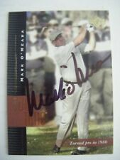 MARK O'MEARA signed 2001 Upper Deck AUTO golf card GOLDSBORO NC LONG BEACH STATE