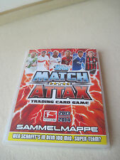 Sammelmappe Match Attax der Saison 2013/2014 mit Traiding Cards