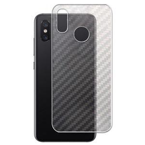2x Xiaomi MI 8 /MI 8 se Front Back Full Cover Soft Screen Protector TPU/PET Film