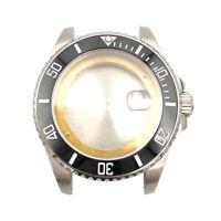 43mm Submariner Style Diver Watch Case Fit ETA 2836 DG2813 Miyota8215