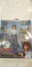NECA Bob Ross The Joy of Painting 8 Inch Clothed Action Figure
