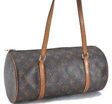 Authentic Louis Vuitton Monogramm Papillon 30 Handtasche m51385 LV c3330