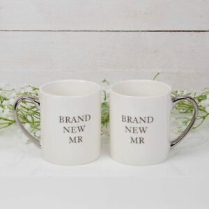 Brand New Mr & Mr Mugs by Amore in presentation box.  Wedding/Present/Couple