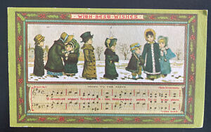 1978 Flemington NJ USA Christmas Postcard cover To Bend OR Going To The Party