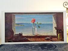 ORIGINAL RARE Tretchikoff Rose In Workshop 1960s - Vintage Kitsch Art Print