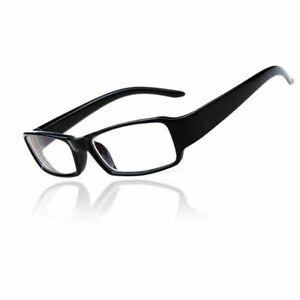Trendy Short Sighted Glasses Black Plastic Frame Near Sighted Lenses -1.0 ~ -6.0