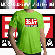 Yoshimura Hideo Pops Motorcycle USA Japan Racing Logo Mens Tee Crew Neck T-Shirt
