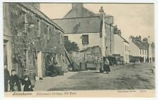More details for stonehaven, fishermen's cottages, old town - kincardineshire postcard