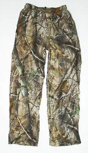 GAMEHIDE Camouflage Hunting Pants AP REALTREE Camo LINED Mens NEW Large LG