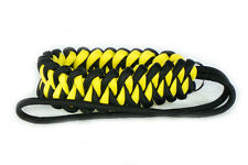 "Yellow ""Shark"" Paracord Wrist Strap for DSLR Compact Cameras Fuji Canon Sony"