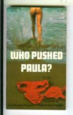 WHO PUSHED PAULA? by Del Piombo, Olympia #OPS36 sleaze gga pulp vintage pb