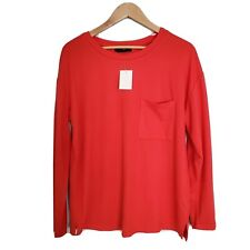 Sanctuary Womens Red Casual Pullover Sweater Top Size L