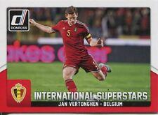 Donruss Soccer 2015 Int. Superstars Chase Card #21 Jan Vertonghen