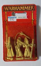 GW Warhammer High Elf Sword Master Command 87-40 1997 - METAL OOP SEALED BLISTER