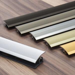 Übergangsprofil klick 34mm 90cm Aluprofil Parkett Laminat Belagstärken 7 - 15mm