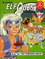 "ELFQUEST Graphic Novel vol 2 ""Forbidden Grove"" 1988  scarce SIGNED!"