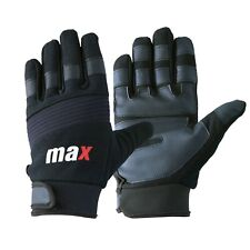 Max Full Finger Best Performance Weight Lifting Gloves Gym Workout Everyday Use