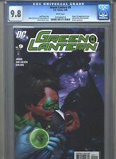 Green Lantern #9 CGC 9.8 (2006) Origin & 1st First New Tattooed Man Batman